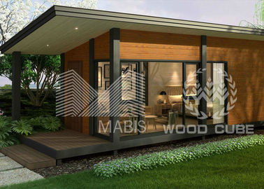 Modern Style Prefab Granny Flat , 1 Bedroom Modular Granny Flats High End Design