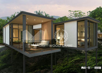 Weather Resistance Modern Modular Homes , Contemporary Prefabricated Homes